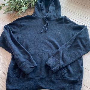 Polo Ralph Lauren dark gray hooded sweatshirt GUC